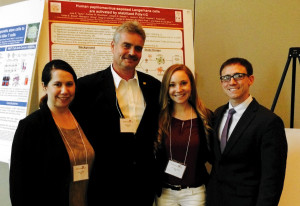 The Kast Lab flexes immunology muscle at conference